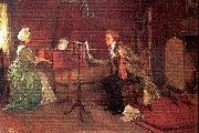 Millet, Francis David A Difficult Duet oil painting picture wholesale